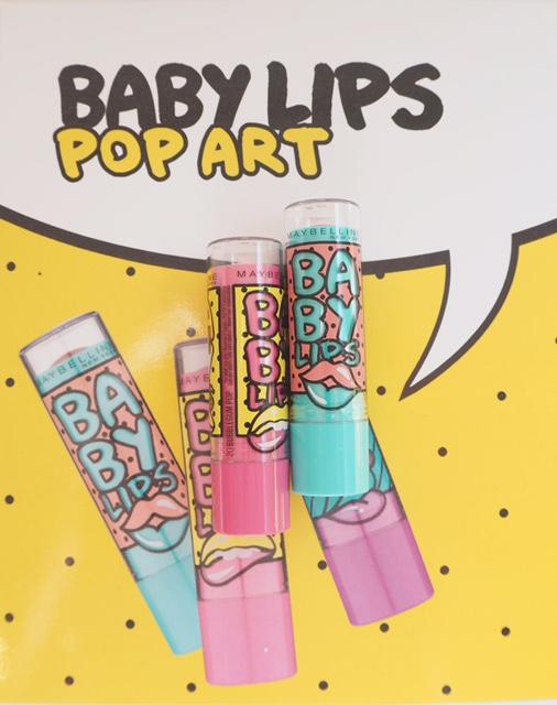 Maybelline Baby Lips Pop Art British Beauty Blogger