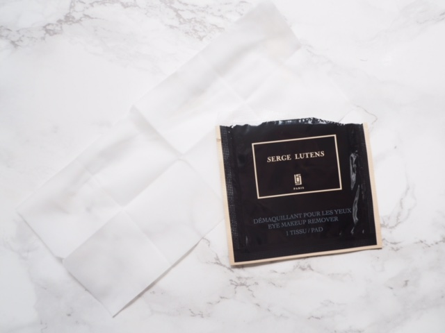 Serge Lutens Makeup Wipes