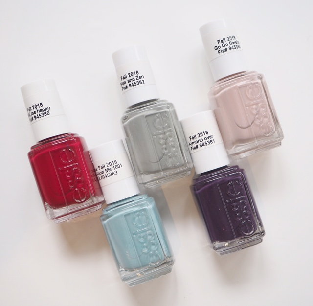Essie Japanese If You Please Autumn 2016