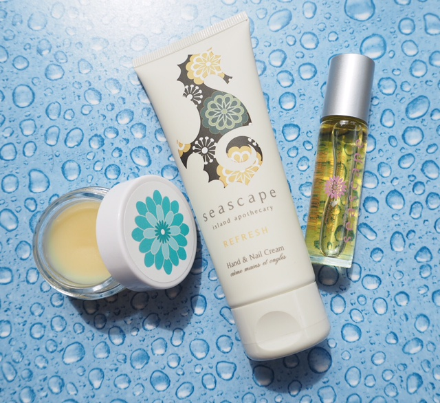 Seascape Island Apothecary Travel Trio