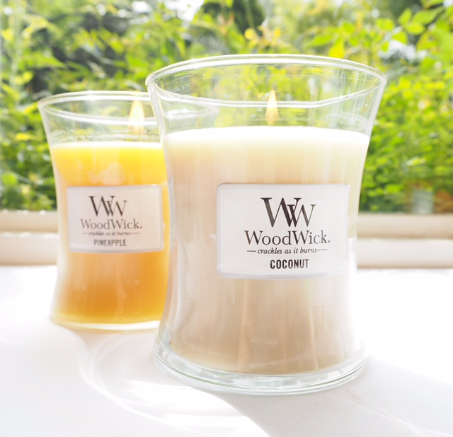 Woodwick Pineapple Candle