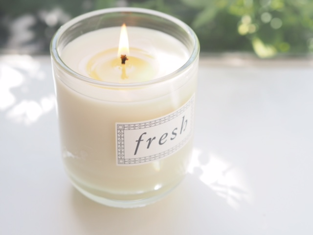 Fresh Cannabis Santal Candle