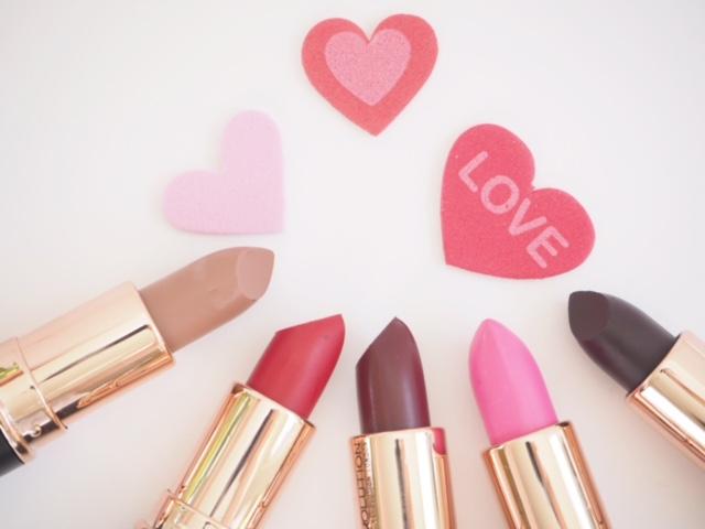Makeup Revolution Rose Gold Mattes