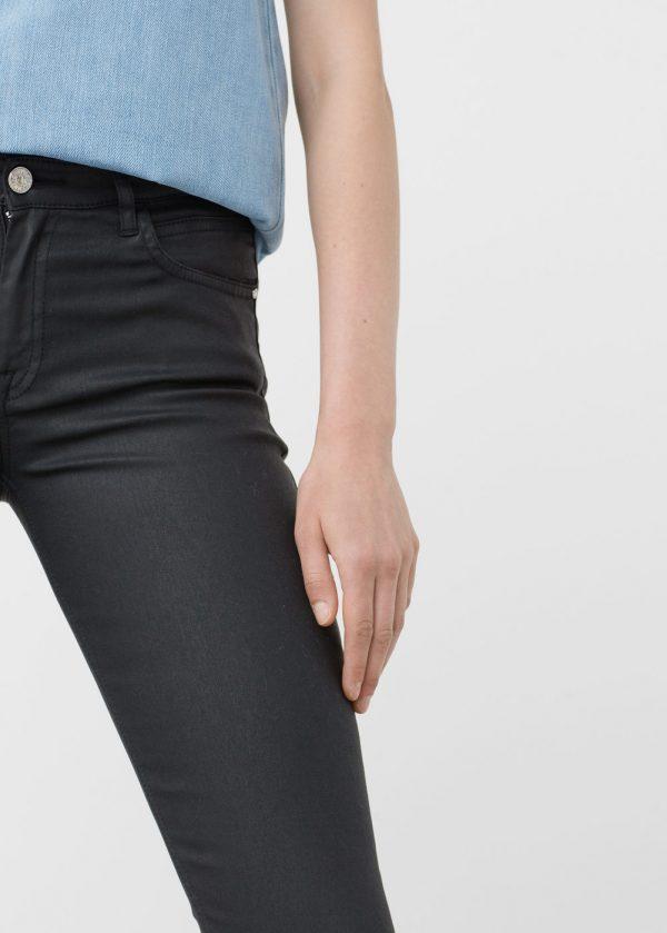 Mango Waxed Jeans