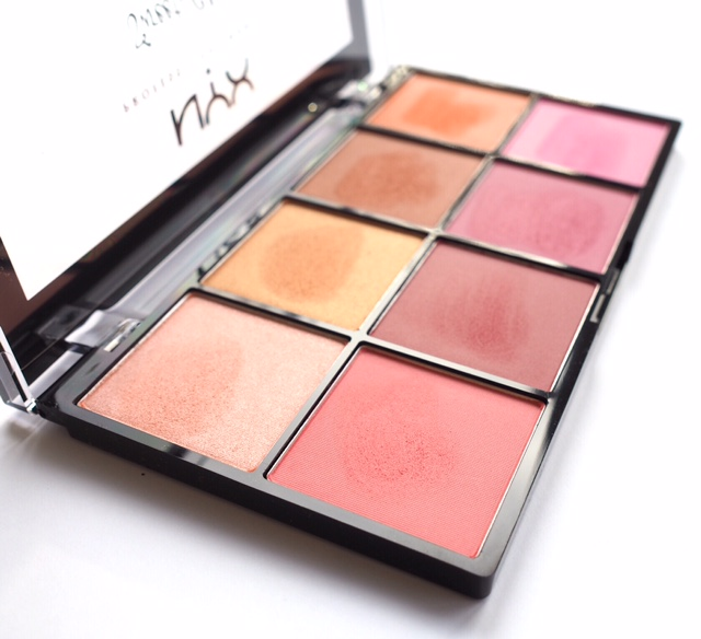 NYX Sweet Cheeks Blush Palette