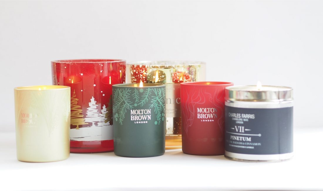 Christmas Candle Round Up