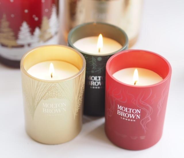 Molton Brown Christmas Candles