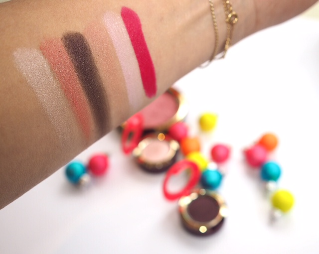 MAC Nutcracker Swatches