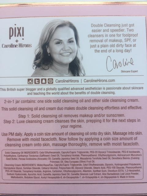 Pixi & Caroline Hirons Double Cleanse