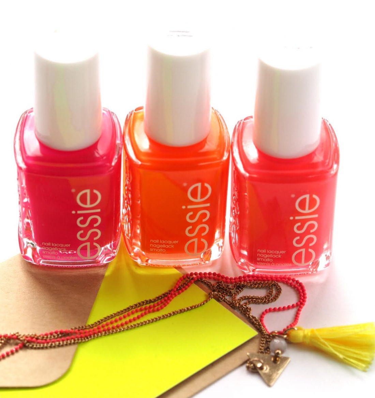 Essie Neon Collection   British Beauty Blogger