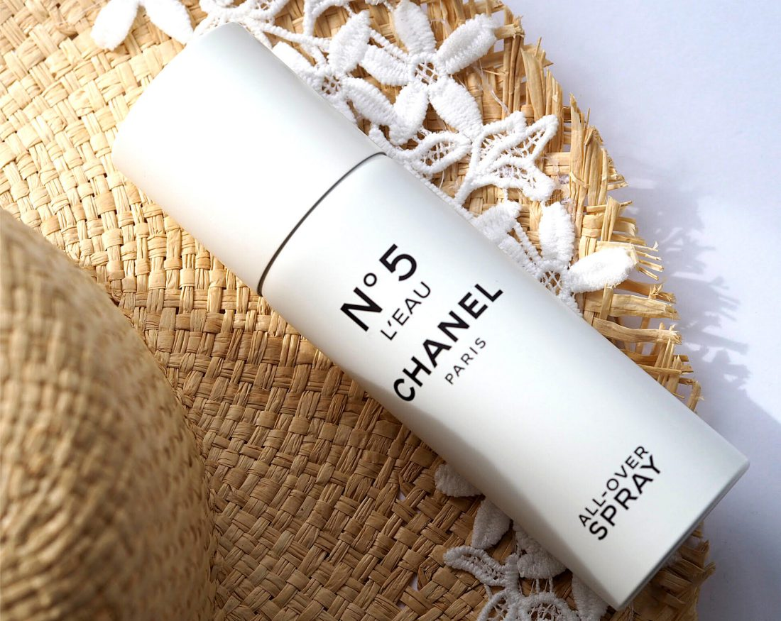 8d1483b6 Chanel No.5 L'Eau All-Over Body Spray | British Beauty Blogger