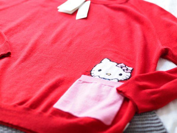 Friday Treat: Chinti & Parker Hello Kitty Cashmere Sweater