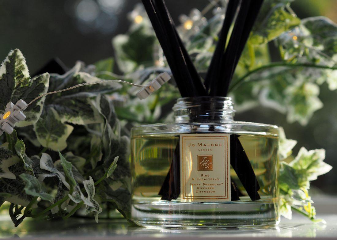 Jo Malone London Pine Eucalyptus Reed Diffuser British Beauty Blogger
