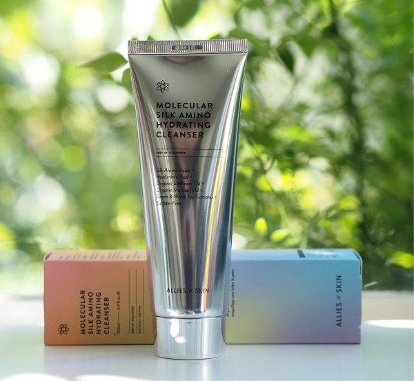 Aliados da pele Molecular Silk Amino Hidratante de limpeza 35