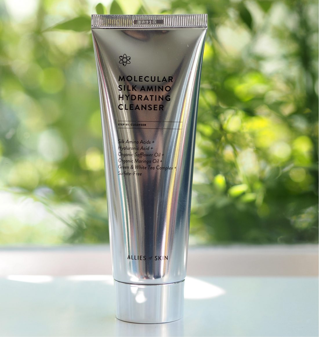 Aliados da pele Molecular Silk Amino Hidratante de limpeza 3